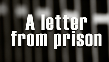 A letter from prison