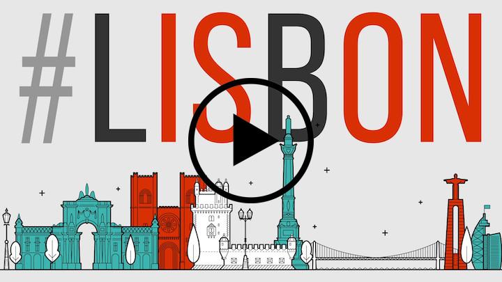 Lisbon is on